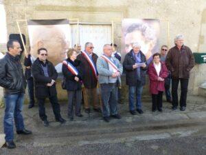 Inauguration d'une Place Mis et Thiennot sur la commune de Parnac (36)
