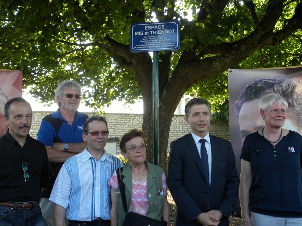 Châteauroux inaugure un espace Mis et Thiennot