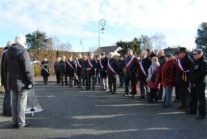 Inauguration d'une Place Mis & Thiennot sur la commune de Diors (36130)