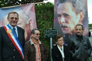 Faverolles, inauguration d'une rue