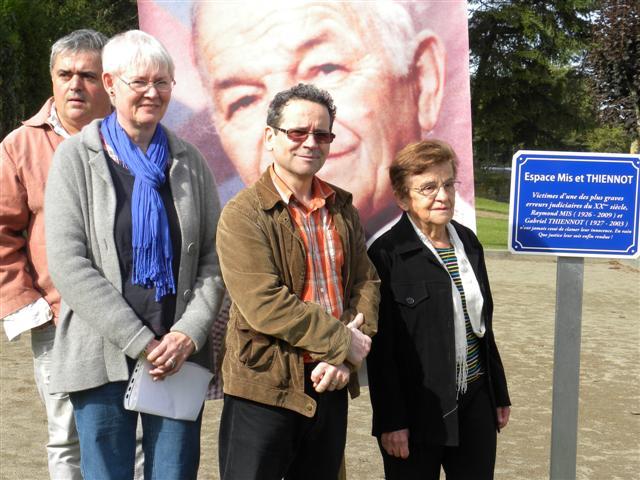Inauguration d'un Espace Mis et Thiennot sur la commune de La Châtre l'Anglin (36)