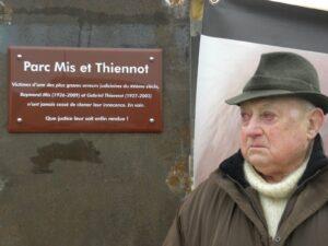 Inauguration du Parc Mis et Thiennot sur la commune de Le Blanc (36)