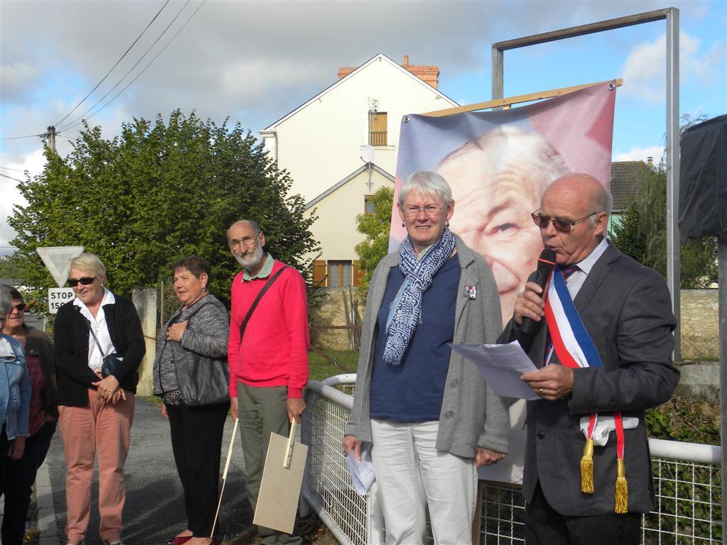 La commune du Pêchereau inaugurait son Allée Mis & Thiennot